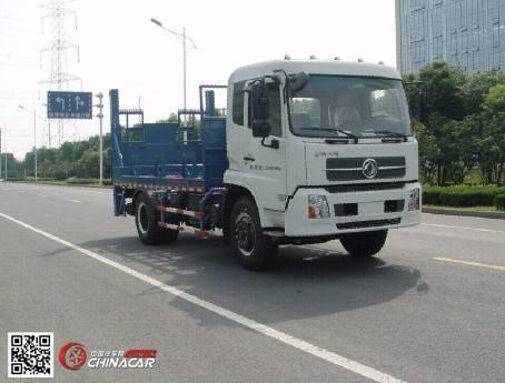 常奇牌ZQS5160JHQ型后栏板起重运输车图片1