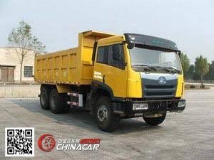 CA3252P2K2T1A型解放牌6X4平头柴油自卸汽车图片2