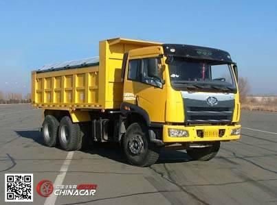 CA3252P2K2T1A型解放牌6X4平头柴油自卸汽车图片3