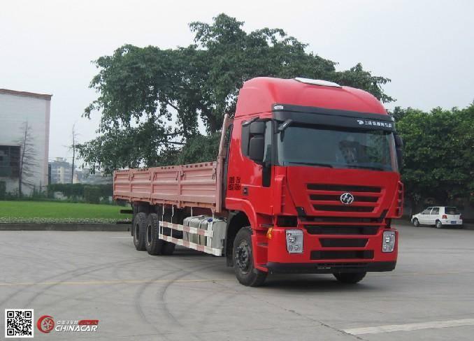 红岩 国四排放 后双桥,后八轮 350-351马力 柴油 10-15吨 货车 cq1255