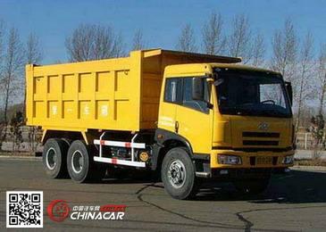 CA3253P7K2T1型解放牌6X4平头柴油自卸汽车图片1