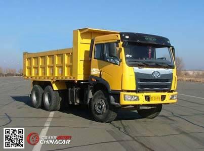 CA3252P2K2T1A型解放牌6X4平头柴油自卸汽车图片1