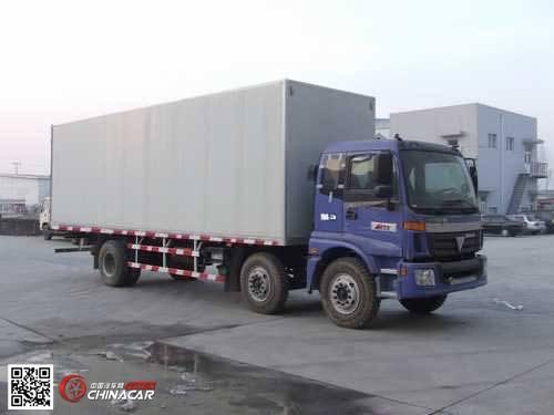 福田牌BJ5167VJCHH-S型厢式运输车图片
