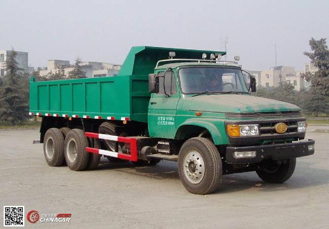 CA3167K2T1EA80型解放牌长头柴油自卸汽车图片1