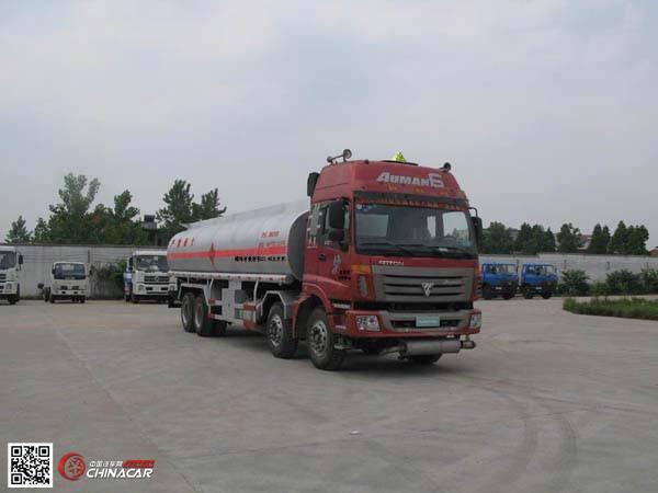 楚风牌HQG5317GLYBJ3型沥青运输车图片1