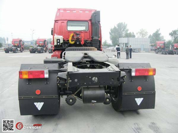 欧曼半挂牵引车 国三排放 前四后四 314马力 柴油 bj4253snfjb-5