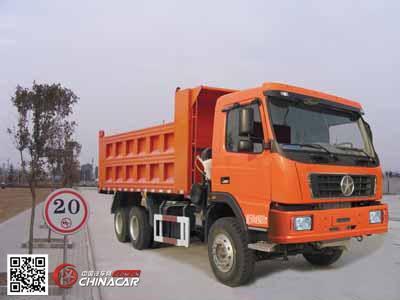 大运牌dyx3253da46wpd3a型自卸汽车图片