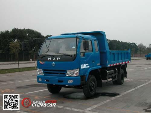 南骏牌njp4815pd6型自卸低速货车图片