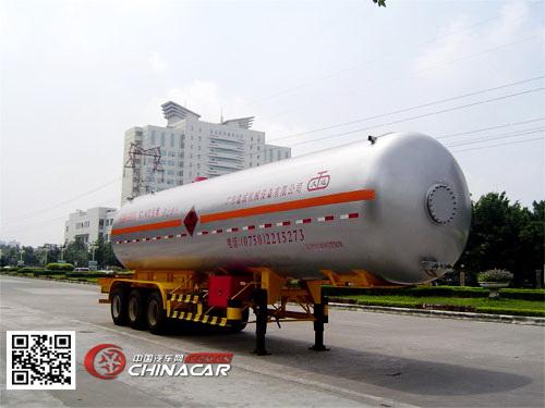 KP9340GTR型久远牌永久气体运输半挂车图片1
