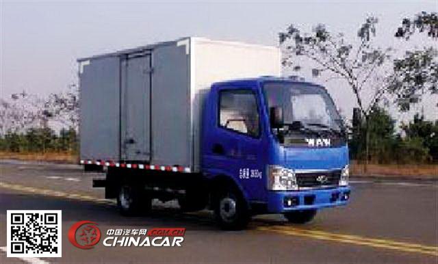 飞碟牌FD5043XXYD11K型厢式运输车图片