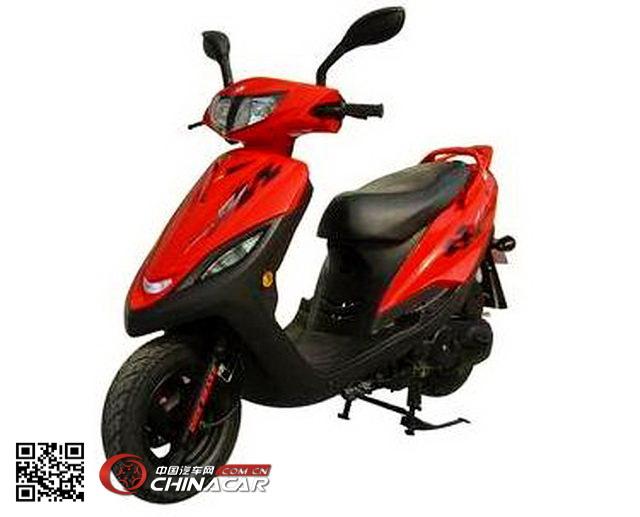 飞鹰fy100t-8a型两轮摩托车