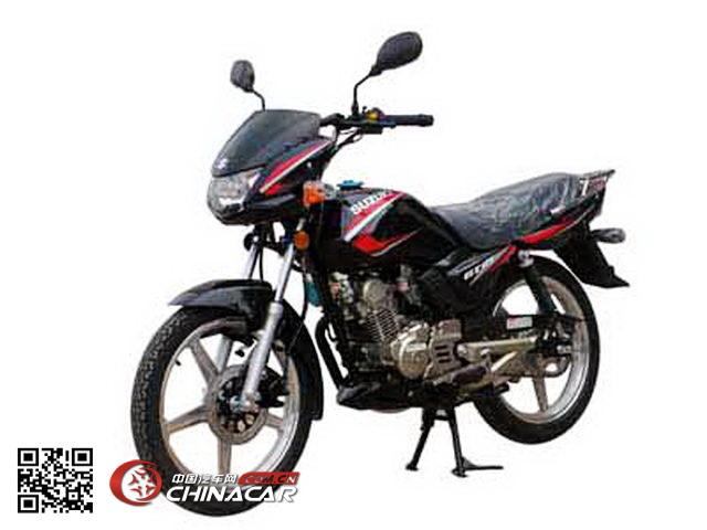 轻骑铃木牌qs125-5e型两轮摩托车图片