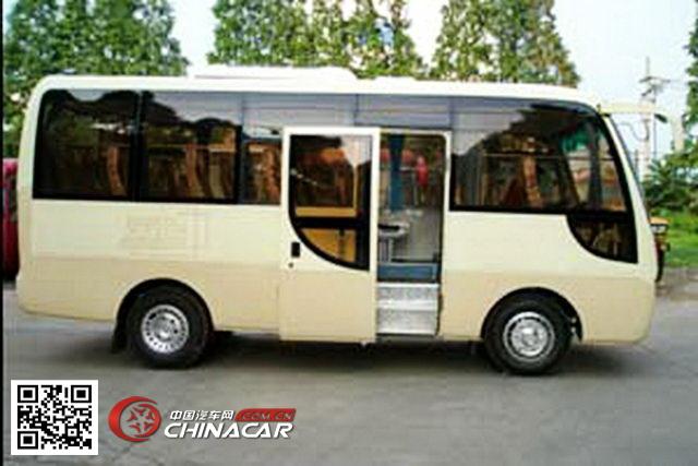 楚风牌HQG6570EA3型轻型客车图片4