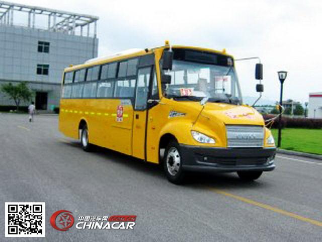 桂林牌GL6109XQ型中小学生专用校车图片1