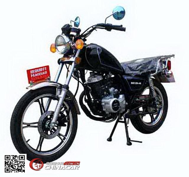 豪剑牌hj125-4b型两轮摩托车图片