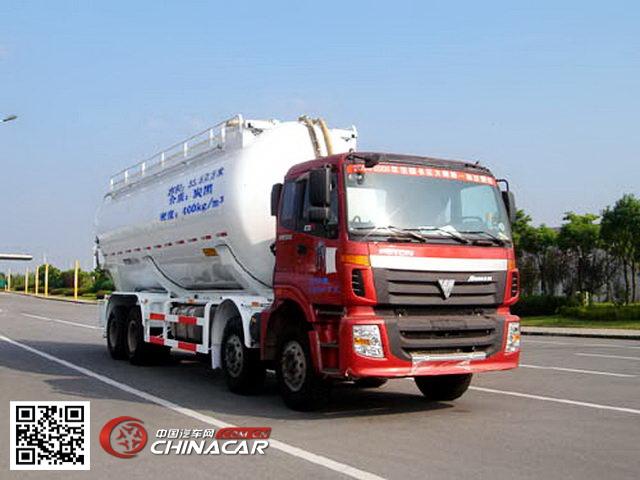 中集牌ZJV5313GFLTH型粉粒物料运输车图片