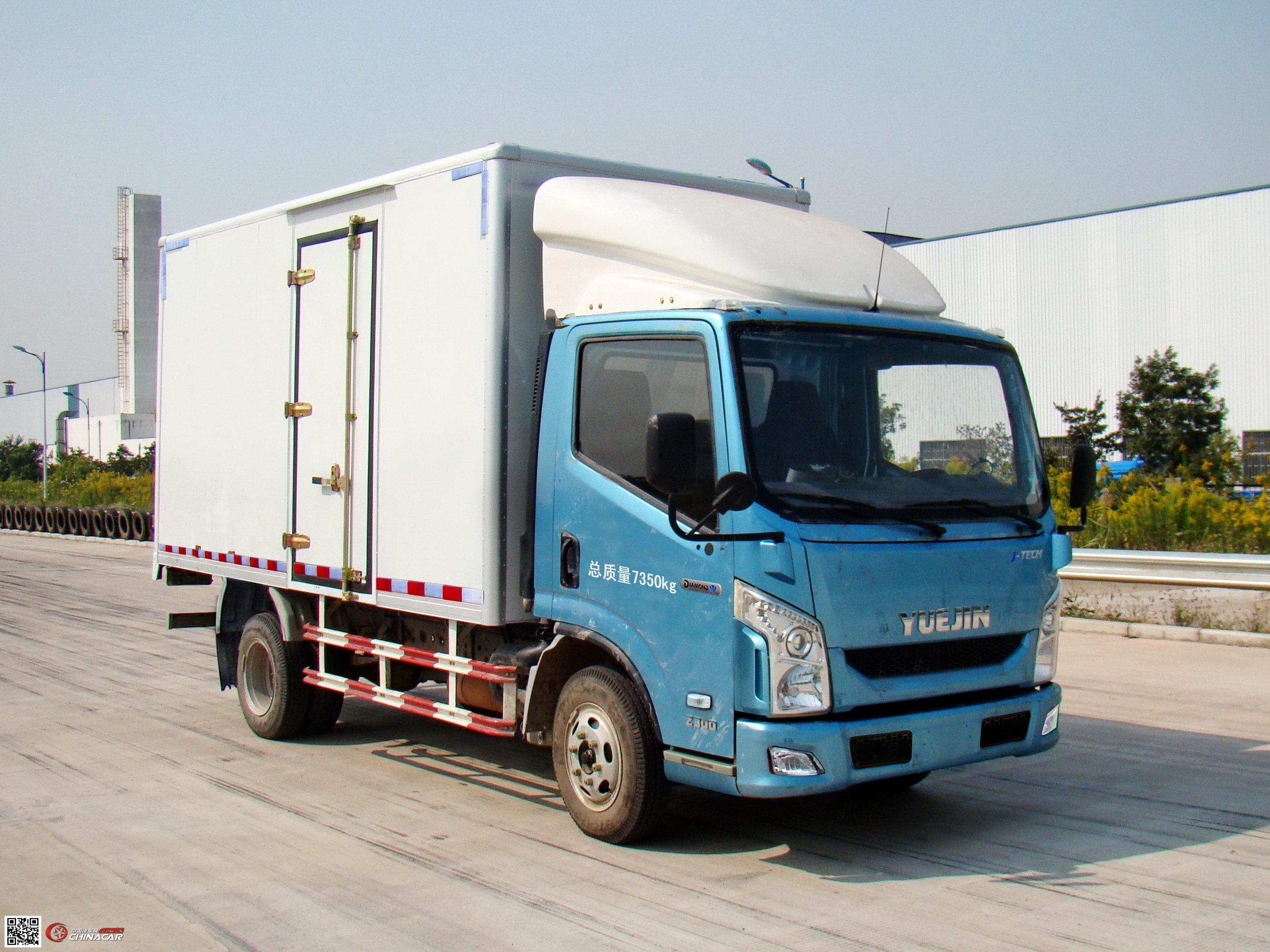 跃进牌nj5071xxyzfdcmz型厢式运输车图片图片