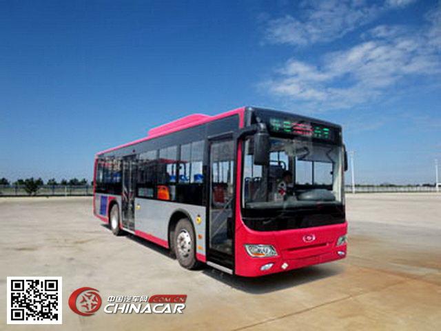 黑龙江牌HLJ6106HY型城市客车图片1