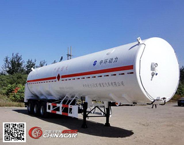 bjz9390gdy中环牌低温液体运输半挂车图片|中国汽车