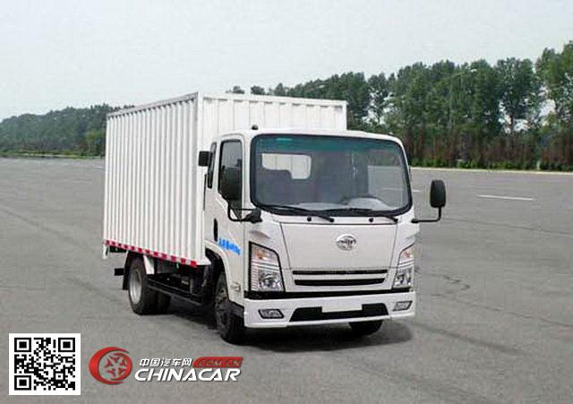 华凯牌CA5040XXYKBLBP2R5型厢式运输车图片