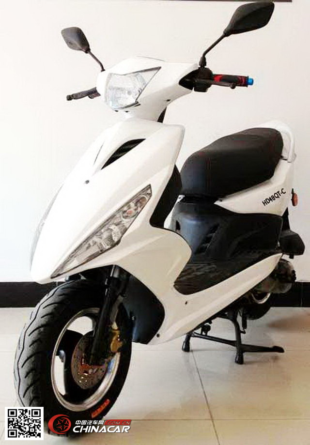 豪达hd48qt-c型两轮轻便摩托车