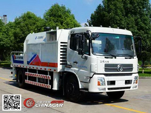 车载式混凝土泵车 底盘型号: dfl5180thbbx5a 生产厂家: 中联重科股份