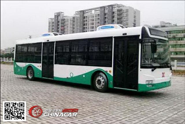 广通牌gtq6117bevb型纯电动城市客车由珠海广通汽车