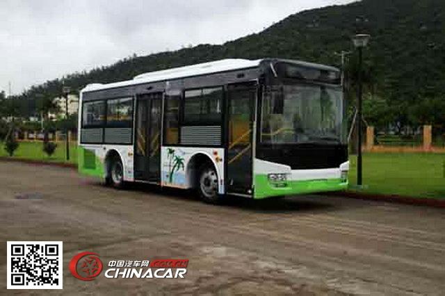 广通牌gtq6802bevb1型纯电动城市客车由珠海广通汽车