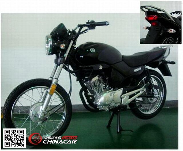 建设-雅马哈jym125-b型两轮摩托车