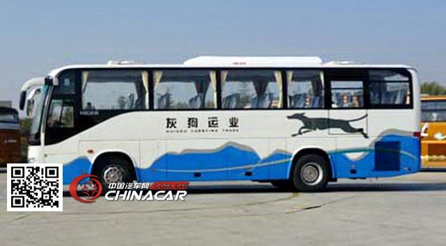 金龙牌KLQ6109QE3型旅游客车图片4