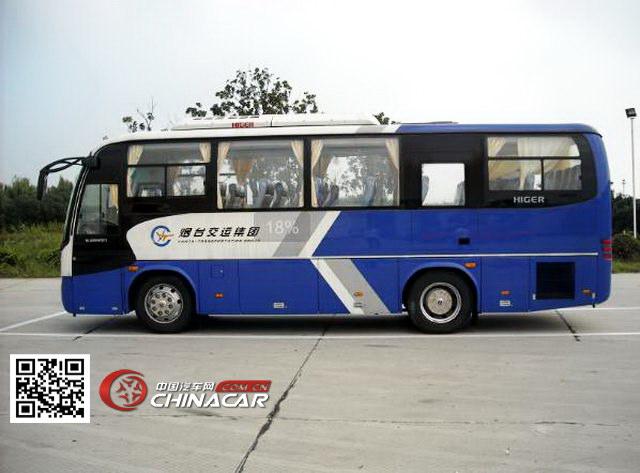 金龙牌KLQ6856QE3型旅游客车图片4