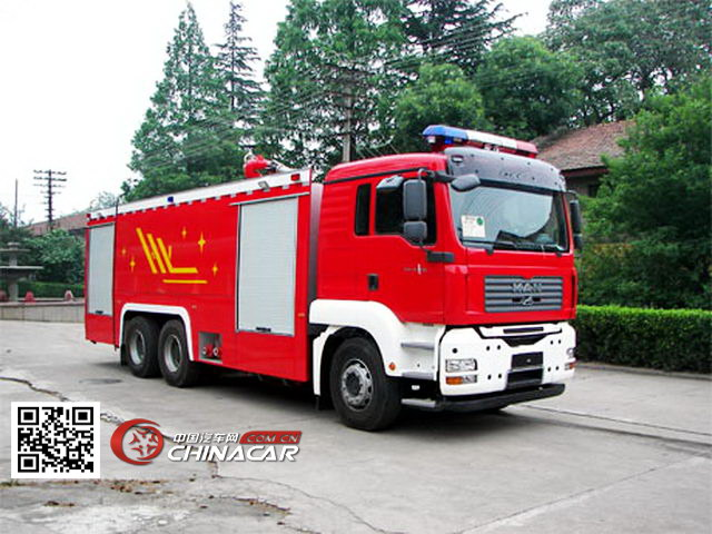 银河牌BX5310GXFSG160M型水罐消防车图片
