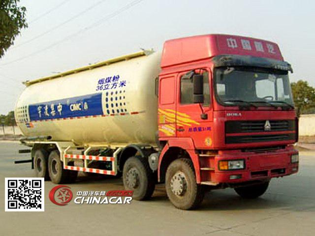 中集牌ZJV5313GFLLYZZ型低密度粉粒物料运输车图片