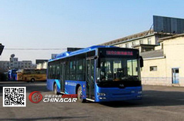 黄海牌DD6129CHEV2型混合动力城市客车图片1