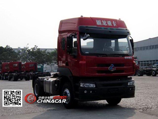 乘龙霸龙牵引车 国四排放 单桥 350马力 柴油 lz4180m5aa
