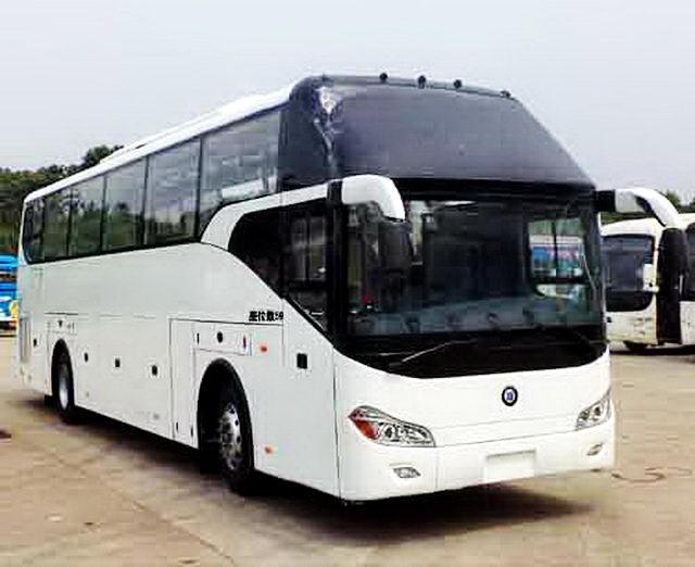 楚风牌HQG6122CL5N型旅游客车图片2