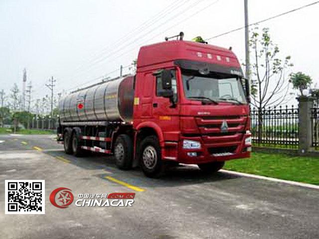 浙通牌LMT5312GLY型沥青运输车图片1