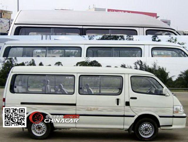 金旅牌XML6532J55型小型客车图片2