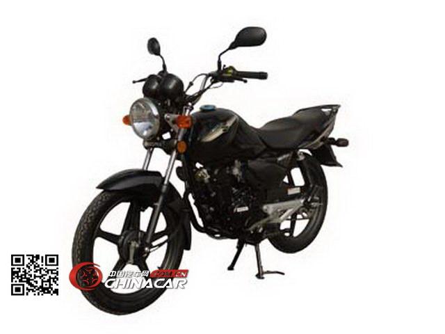 轻骑铃木牌qs125-5h型两轮摩托车图片