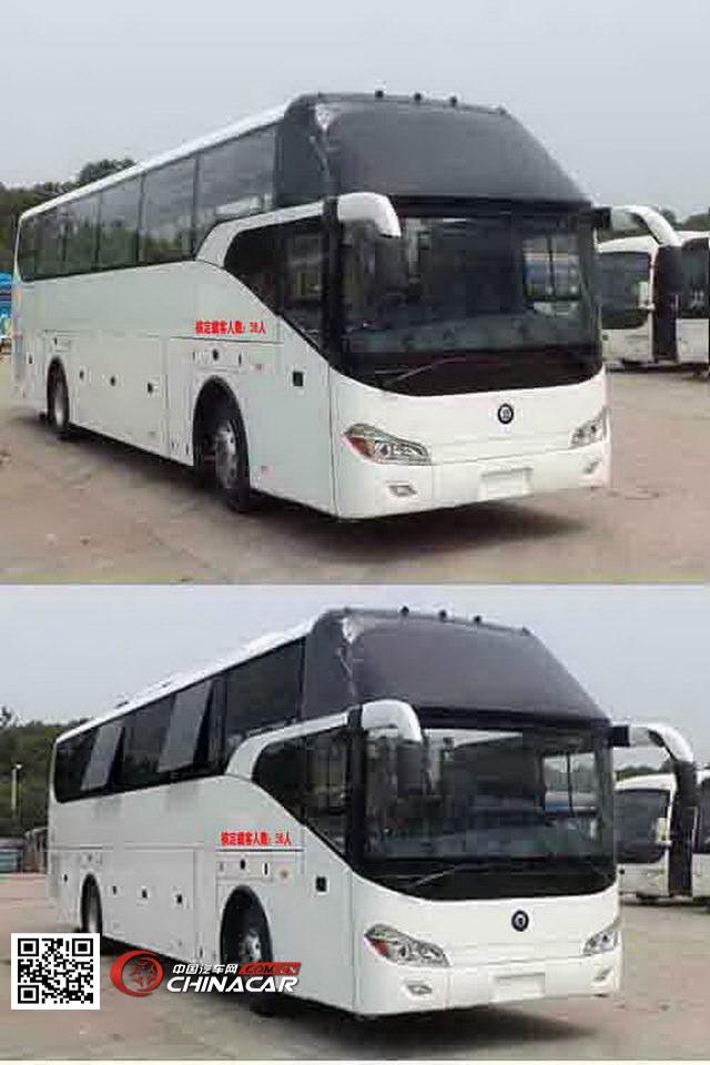 楚风牌HQG6121CA4型旅游客车图片3