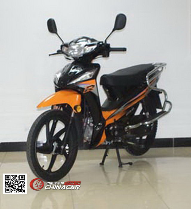 佳劲jj110-3c型两轮摩托车
