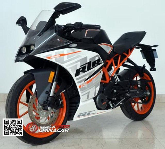 春风cf400-3型两轮摩托车