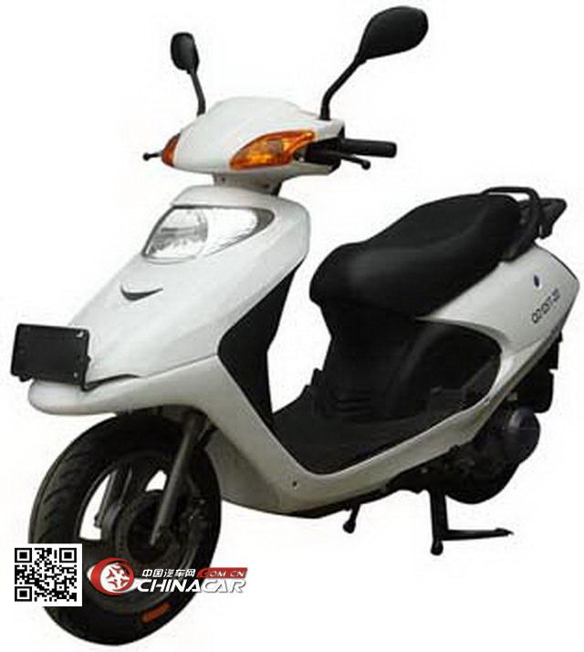 启达牌qd125t-2d型两轮摩托车图片