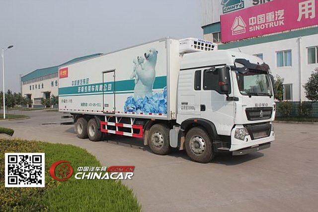 绿叶牌JYJ5317XLCE型冷藏车图片