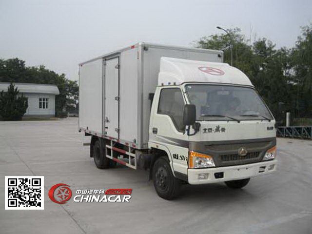 北京牌BJ5030XXY13型厢式运输车图片