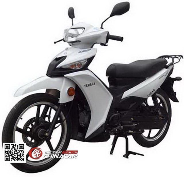 建设-雅马哈牌JYM110-B型两轮摩托车图片