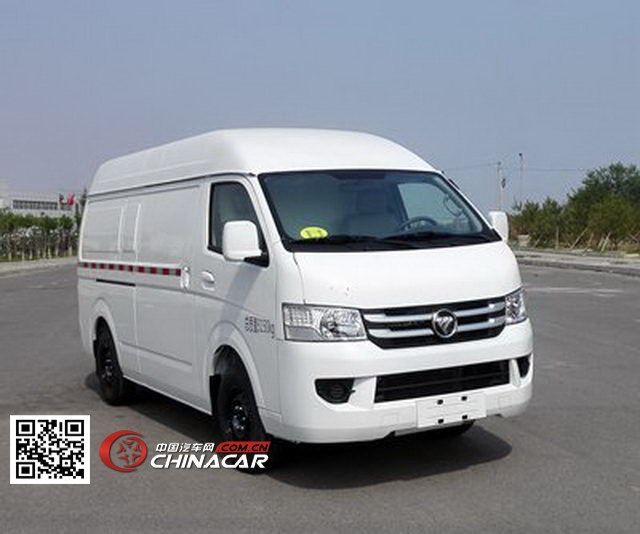 福田牌bj5039xxy-z5型厢式运输车图片图片