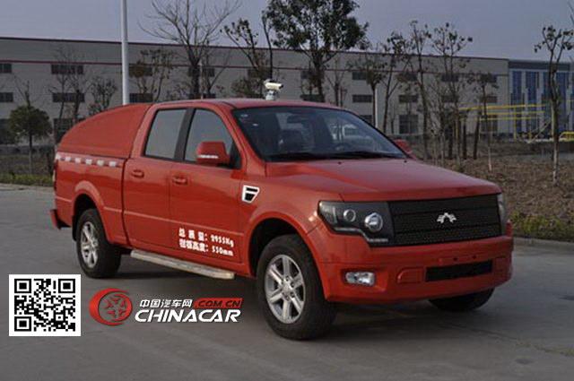 安通牌CHG5030XJE型环境监测车图片1
