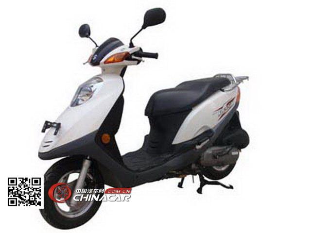 轻骑铃木qs125t-2b型两轮摩托车