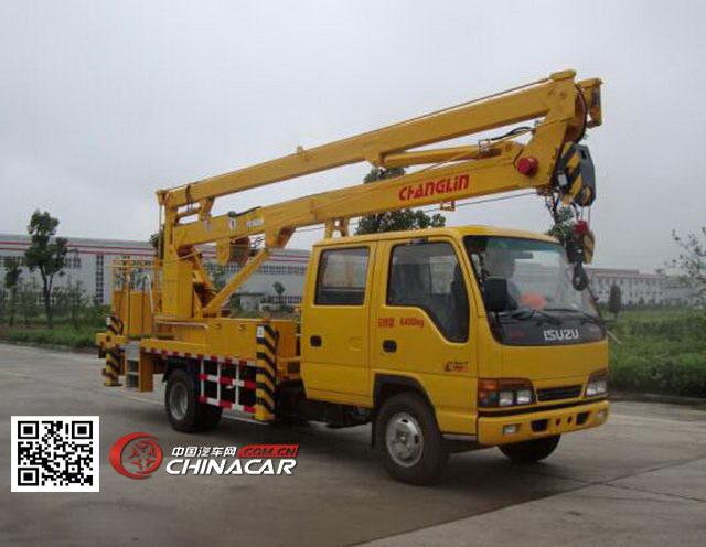常林牌CHL5060JGKQ4型高空作业车图片